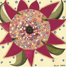 day flower wall art - unavailable
