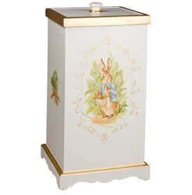 deluxe hamper (enchanted forest) with gold gilding