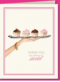 dessert tray thank you (set of 10)