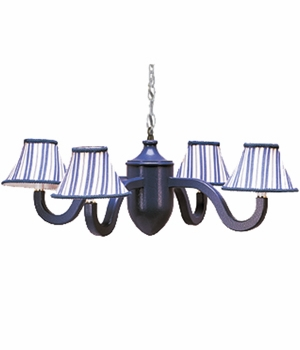 dillon four arm acorn chandelier