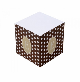 dixie dots sticky note cube
