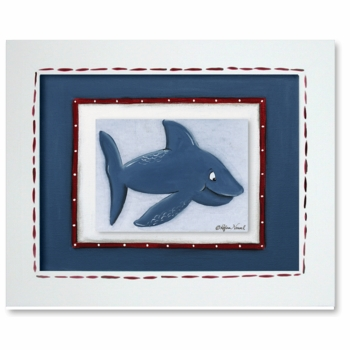 dolphin framed giclee reproduction wall art - SOLD OUT