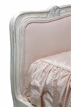 dominique bed, tufted upholstered - twin