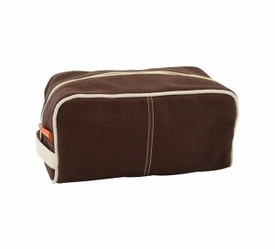 dopp kit - brown