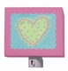 dots heart nightlight