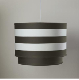 double cylinder - brown stripe