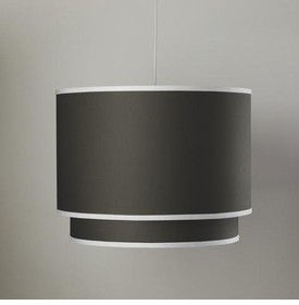 double cylinder light - brown