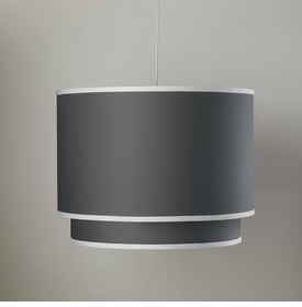 double cylinder light - pewter