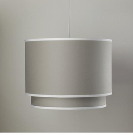 double cylinder light - taupe