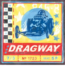 dragway wall art