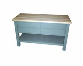 eight drawer kitchen island