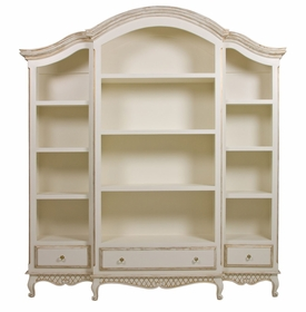 elena three piece bookcase