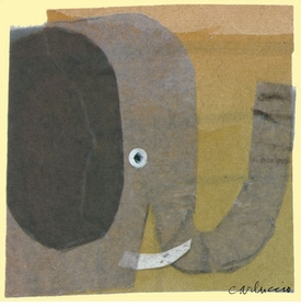 elephant wall art canvas reproduction