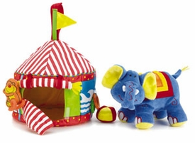 elly belly circus tent by jelly cat