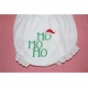 Embroidered Christmas Ho Ho Ho Bloomers Diaper Cover Panty