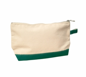 emerald personalized makeup bag