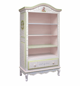 enchanted forest tall french bookcase