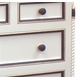 evan chest (antico white/navy/gold gilding)