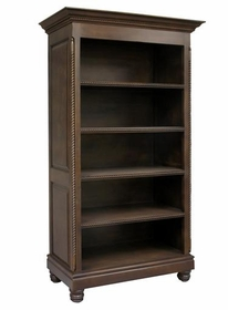 evan open bookcase