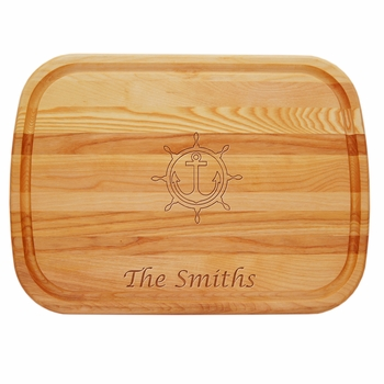 Everyday Board Large Personalized Anchor Wheel