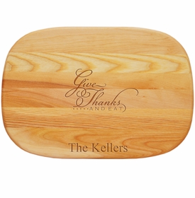 Everyday Board Medium Give Thanks And Eat Personalized