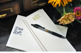 executive notepad combos by haute papier
