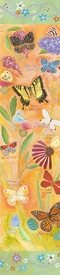 exotic butterflies wall art