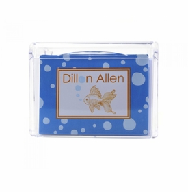 exotic fish children's note box