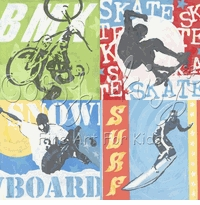 extreme sports wall art canvas reproduction