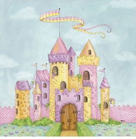 fairy castle - wall art