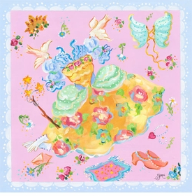 fairy frock wall art
