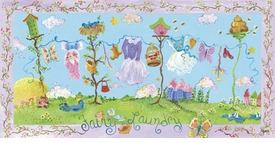 fairy laundry wall art - not available