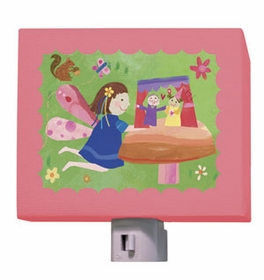 fairy puppet show nightlight