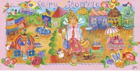 fairy shopping wall art - not available