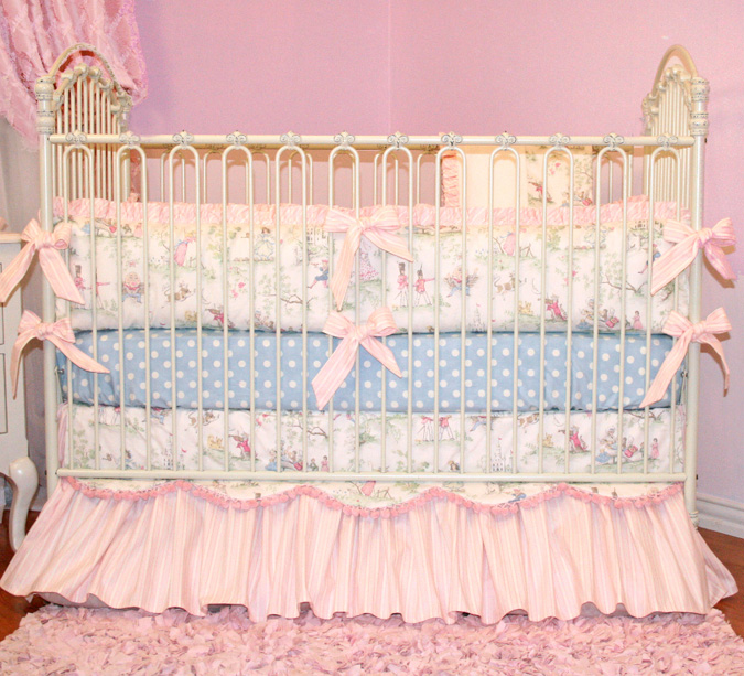 Fairy Tale Princess Crib Bedding