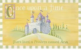 fairy tales girl wall art canvas