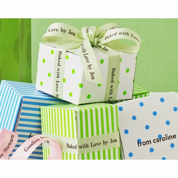 favor boxes - set of 6