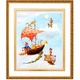 fine art sailing to the moon - unavailabile