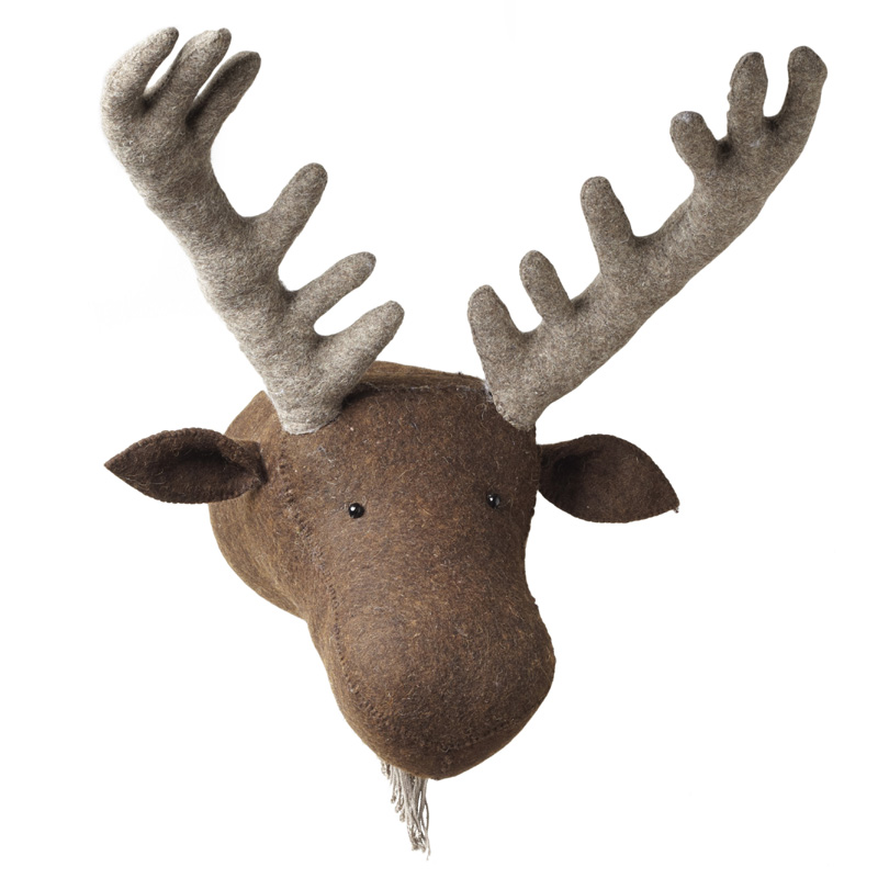 Moose Wall Decor fiona walker england moose head wall decor featured at babybox