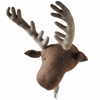 Fiona Walker England Moose Head Wall Decor