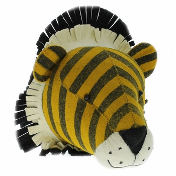 Fiona Walker England Tiger Stripe Print Wall Decor