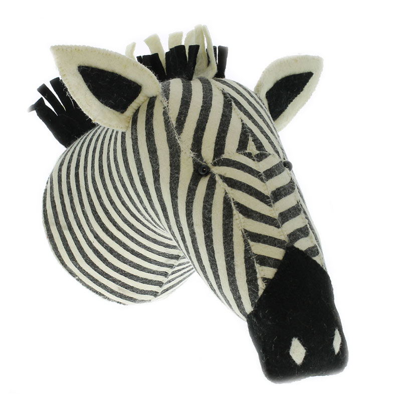 Zebra Wall Decor fiona walker england zebra stripe print wall decor