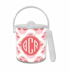 Flamingos Ice Bucket