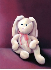floppy bunny wall art canvas reproduction