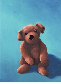 floppy doggy wall art canvas reproduction