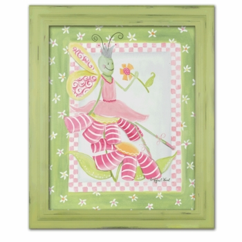 flower ballet butterfly canvas reproduction wall art - SOLD OUT
