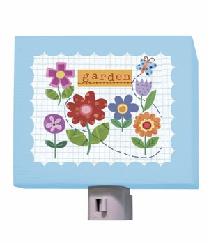 flower garden nightlight