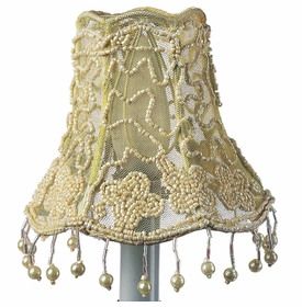 flower tulle chandelier shade