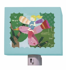 flying fairy nightlight