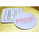 foil stamped ivory coasters
